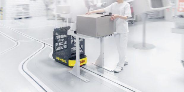Nové AGV od společnosti SSI Schäfer