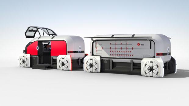 DPDgroup a Renault odstartovaly doručování autonomními vozidly