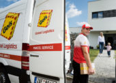Geis otevřel balíkové depo v Praze – Štěrboholech