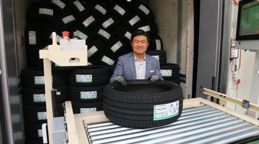 Nexen Tire u Žatce vyexpedoval první pneumatiky
