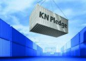 KN Pledge garantuje tranzitní čas námořní přepravy