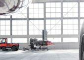 Nový tahač s palivovými články pro letištní logistiku
