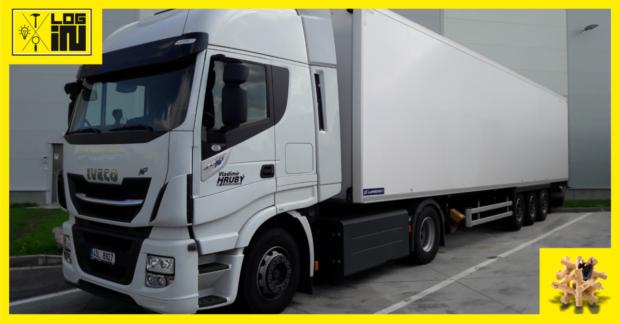 Albert vozí čtvrtinu sortimentu pomocí kamionů na CNG