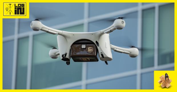 UPS využíva drony na prepravu zdravotníckych vzoriek a dokumentov