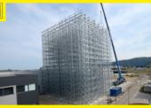 Plnoautomatické paletové siláž dielne spoločnosti Jungheinrich
