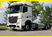 VCHD Cargo si pořídila mercedesy páté generace