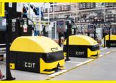 VŠkoda Auto nasadili najnovšie logistické roboty slovenského výrobcu