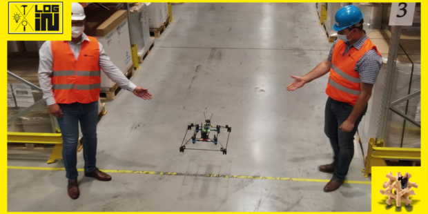 ESA logistika zahájila komerční využívání autonomních dronů ve skladech