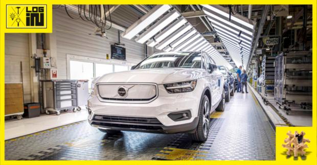 Volvo Cars už vyrába plnoelektrický model XC40 Recharge