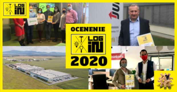 Najlepšie slovenské inovácie za rok 2020 dostali Ocenenie LOG-IN