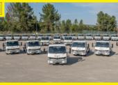 Elektrická flotila DB Schenkeru narůstá o 36 nových vozů Fuso eCanter