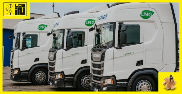 C. S. CARGO zařadilo vozidla na LNG značky Scania