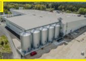 Nová továrna Vafo Praha využívá automatickou paletizaci