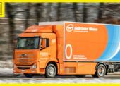 Nákladní vůz na vodík pro Gebrüder Weiss