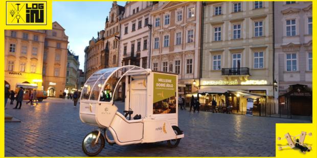 Rohlik.cz testuje v centru Prahy doručení zboží pomocí elektrokol