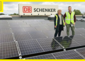 Elektromobily v terminálu DB Schenker bude dobíjet solární energie