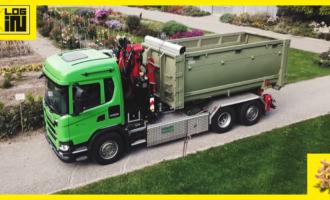 Scania na bioplyn je súčasťou recyklačného systému mesta Zürich