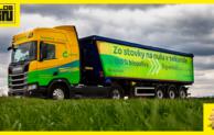 Ekologický kamión na čistú bionaftu na Slovensku