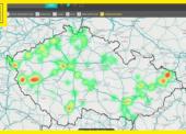 Interaktivní mapa pomáhá vyhledat optimální průmyslové prostory