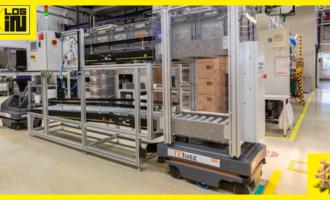 AMR transformujú logistiku v zariadení TE Connectivity